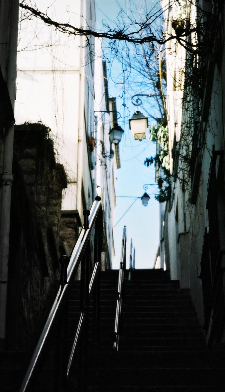 Behind Montmartre